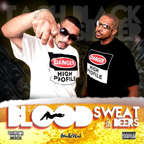 Tash & Black Silver - Blood Sweat & Beers (LP)